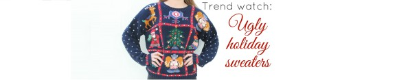 Trend watch: holiday sweaters