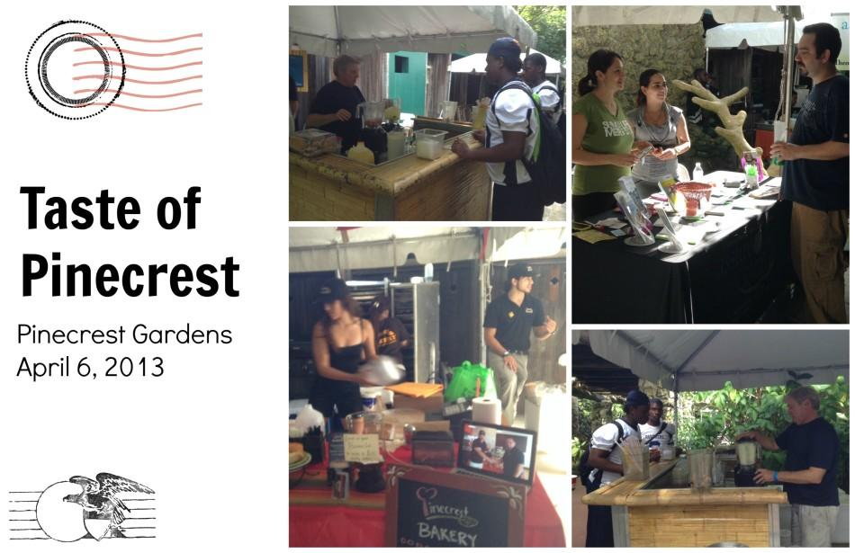 A postcard from Taste of Pinecrest