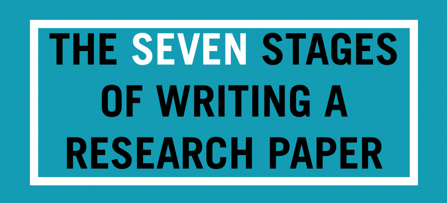 stages in writing a research paper Basic steps to writing a research paper (adapted from the big six research guide you are not writing a research paper your interpretation of the research is the.