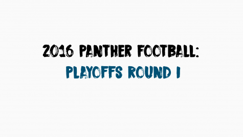 2016 Panther Football: Playoffs Round I