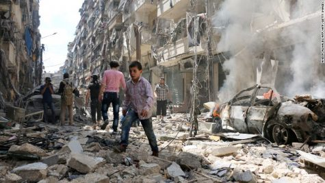 Aleppo makes the Syrian Civil War go global