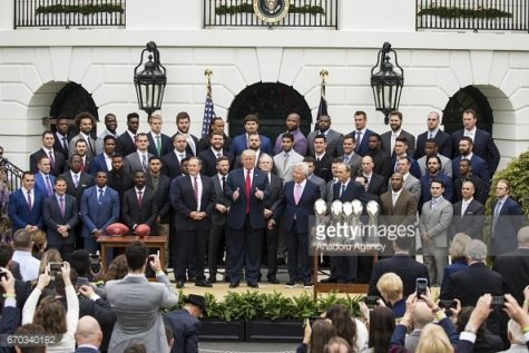 Patriots visit to the White House overshadowed by player absences