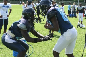 Panthers on the gridiron: it's gametime