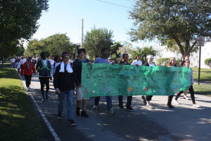 A walk to remember: Students raise awareness by participating in charity walks