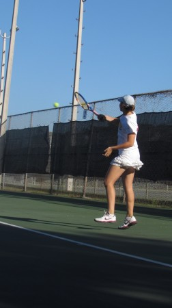 """We are family"" resounds on tennis team"