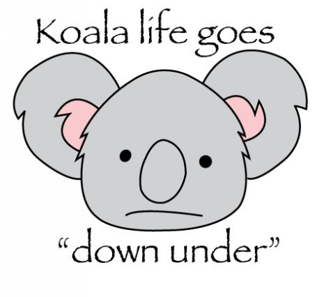 "Koala life goes ""down under"""
