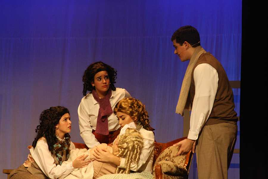 Natalia Ortega channels her inner Beth March in Palmetto's fall performance of Little Women.