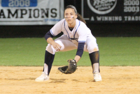 Senior softball player excels on and off the field