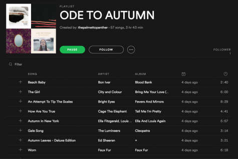 An autumnal playlist