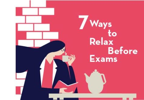 7 Ways to Relax Before Exams