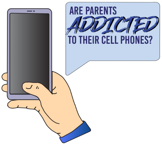 Are Parents Addicted To Their Phones?