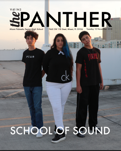 The Panther 2018-2019 Issue 2: School of Sound