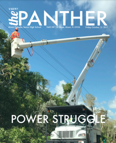 The Panther 2017-2018 Issue 1: Power Struggle