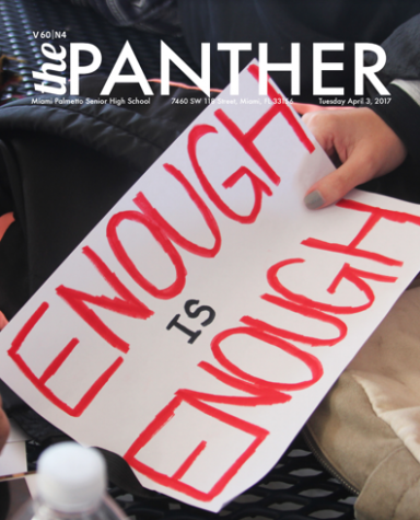 The Panther 2017-2018 Issue 4: Enough is Enough