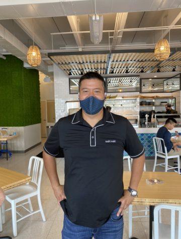 Sushi Maki founder and Palmetto Alumni Abe Ng.