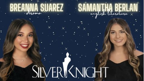 Palmetto's Silver Knight Nominees: Breanna Suarez for Drama and Samantha Berlan for English Literature