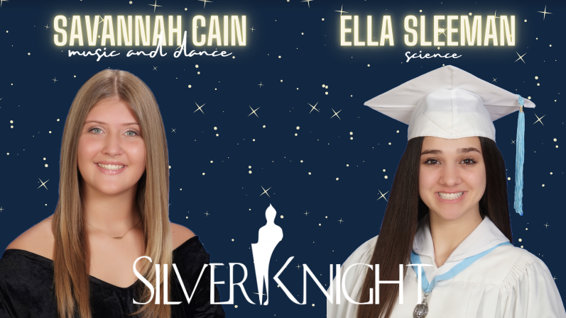 Palmetto's Silver Knight Nominees: Ella Sleeman for Science and Savannah Cain for Music and Dance