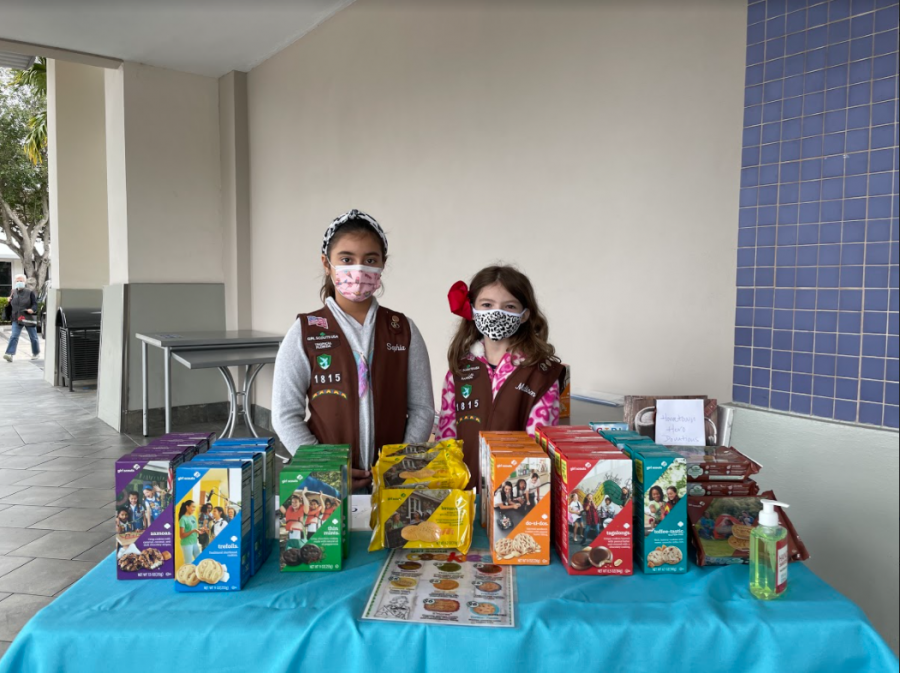 During the COVID-19 pandemic, Girl Scouts have had to adapt and modify their cookie-selling strategies.