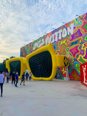 Louis Vuitton x Virgil Abloh Installation Visits Miami