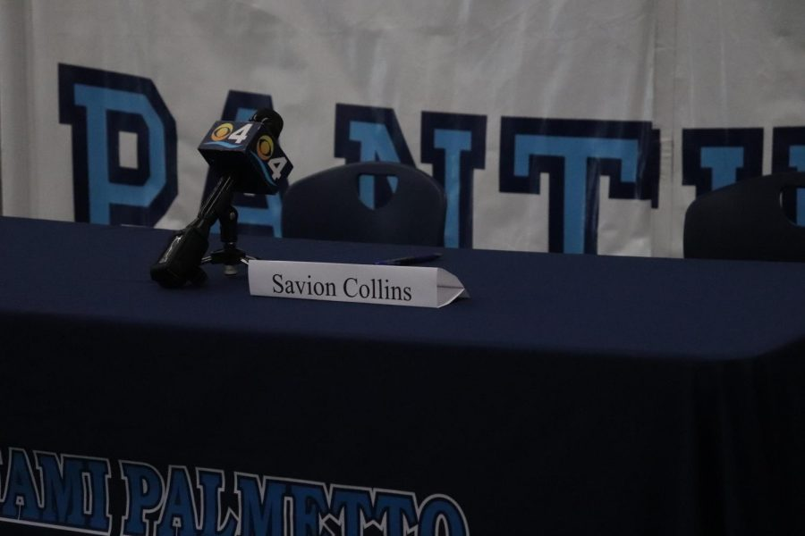 Savion Collins played defensive tackle for the Panthers football team this past season and accrued a three-star rating from 247 sports.