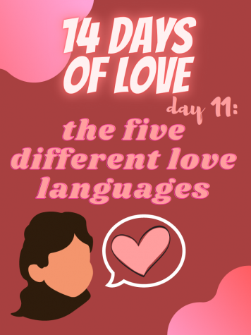 14 Days of Love Day 11: The 5 Different Love Languages
