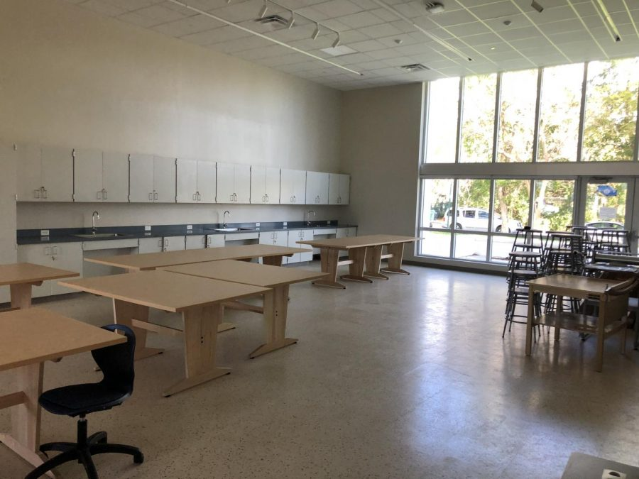 With the new building being constructed at Miami Palmetto Senior High School students have the opportunity to enhance in their abilities as artists of all kind. (Photo courtesy of Linda Dwyer)