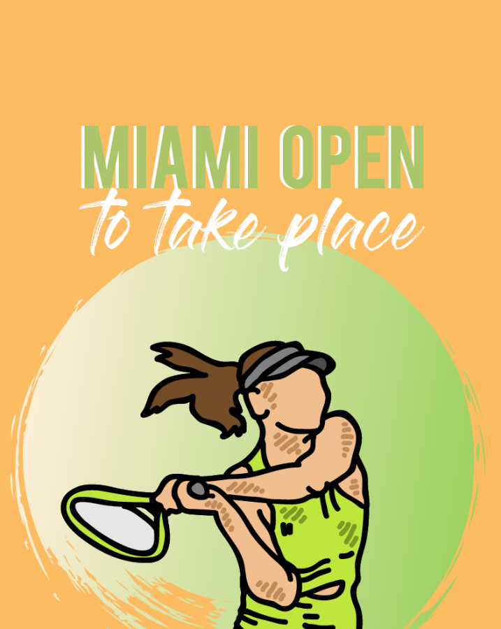 Miami Open to Take Place Over The Next Two Weeks