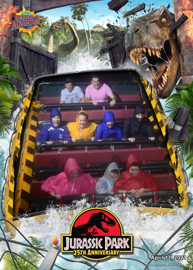 When on water rides such as Jurassic Park River Adventure, guests are permitted to temporarily remove their masks while remaining socially distant.