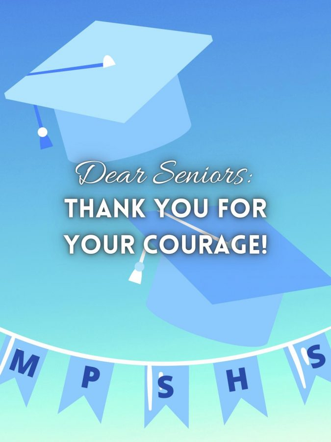 Dear Seniors: Thank You for Your Courage