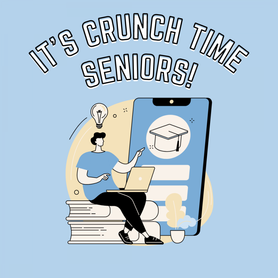 It's Crunch Time Seniors, Let's Get Those College Applications Done